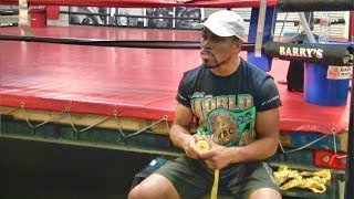 Shawn Porter on betting odds against him: