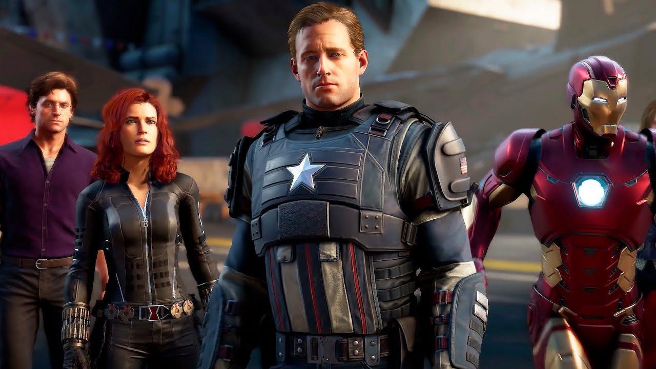 Мстители Marvel — Русский трейлер игры (2020)