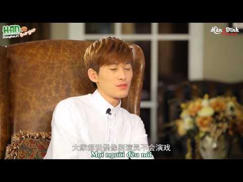 [Vietsub HD]Trương Hàn - Trò chuyện riêng tư với MC Tinh Nguyệt