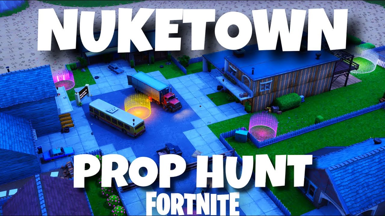 small prop hunt maps fortnite