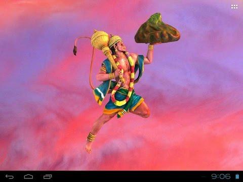 Jai Hanumān : Free Animated 3D Mobile App, Live Wallpaper