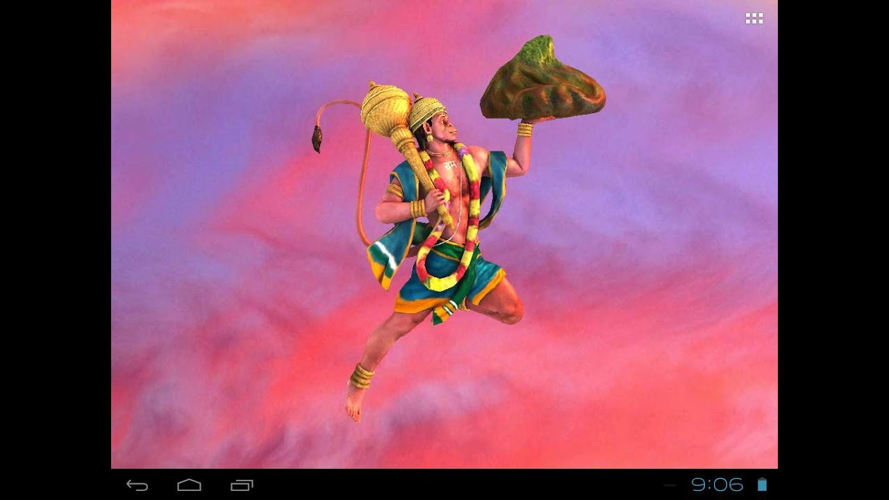 Jai Hanumān Free Animated 3d Mobile App Live Wallpaper Youtube