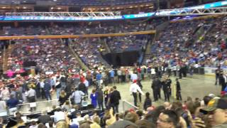 A 23 second look inside the Donald Trump Rally in Buffalo, NY