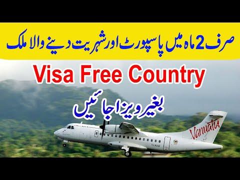 VISA FREE: Visa Not Required To Travel To Vanuatu    Visa ...