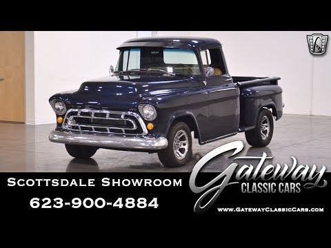 1957 Chevrolet 3100 Gateway Classic Cars #489-SCT