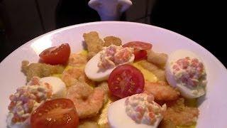 Crispy Fish And Prawns In Ginger Chilli Sauce