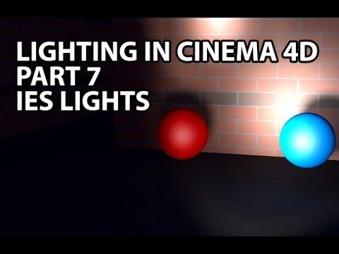 Cinema 4D Tutorial: Awesome IES Lights