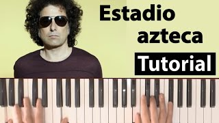 "Como tocar ""Estadio azteca""(Andrés Calamaro) - Piano tutorial, partitura y Mp3"