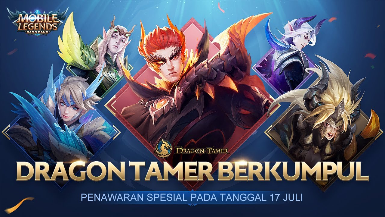 Skin Baru Dragon Tamer - Trailer 5 Dragon Tamer | Mobile Legends: Bang Bang Indonesia