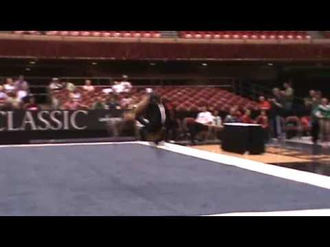 Nicole Steele Floor - 2009 US Challenge