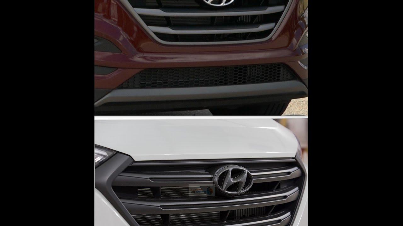 Hyundai Tucson Grill Wrapped Black Matte | Plastidip India | Flaunt Ur Kuler