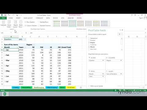 Grouping by date and time | Excel |