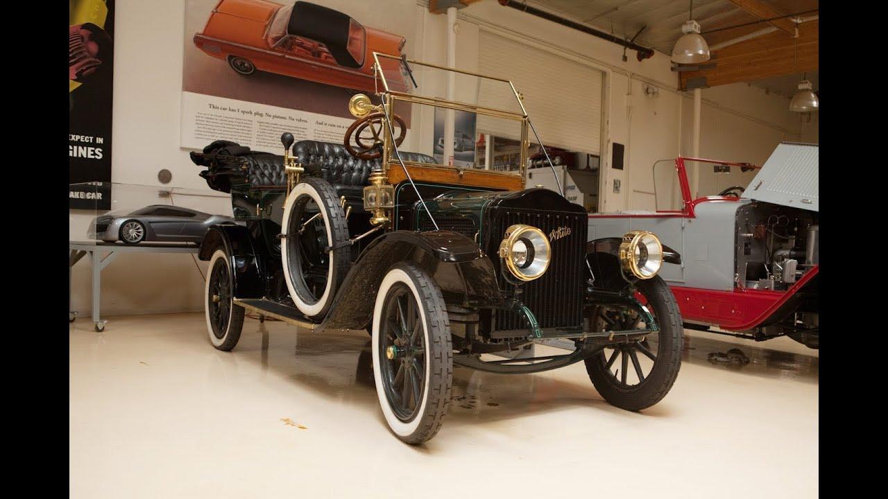 Restoration Blog: 1910 Model O-O White Steam Car, Final Edition - Jay Leno's Garage - YouTube