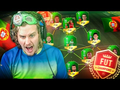 THE BEST STRIKER IN PORTUGAL! INSANE LIGA NOS FUT CHAMPIONS QUALIFIER SQUAD! FIFA 17 ULTIMATE TEAM