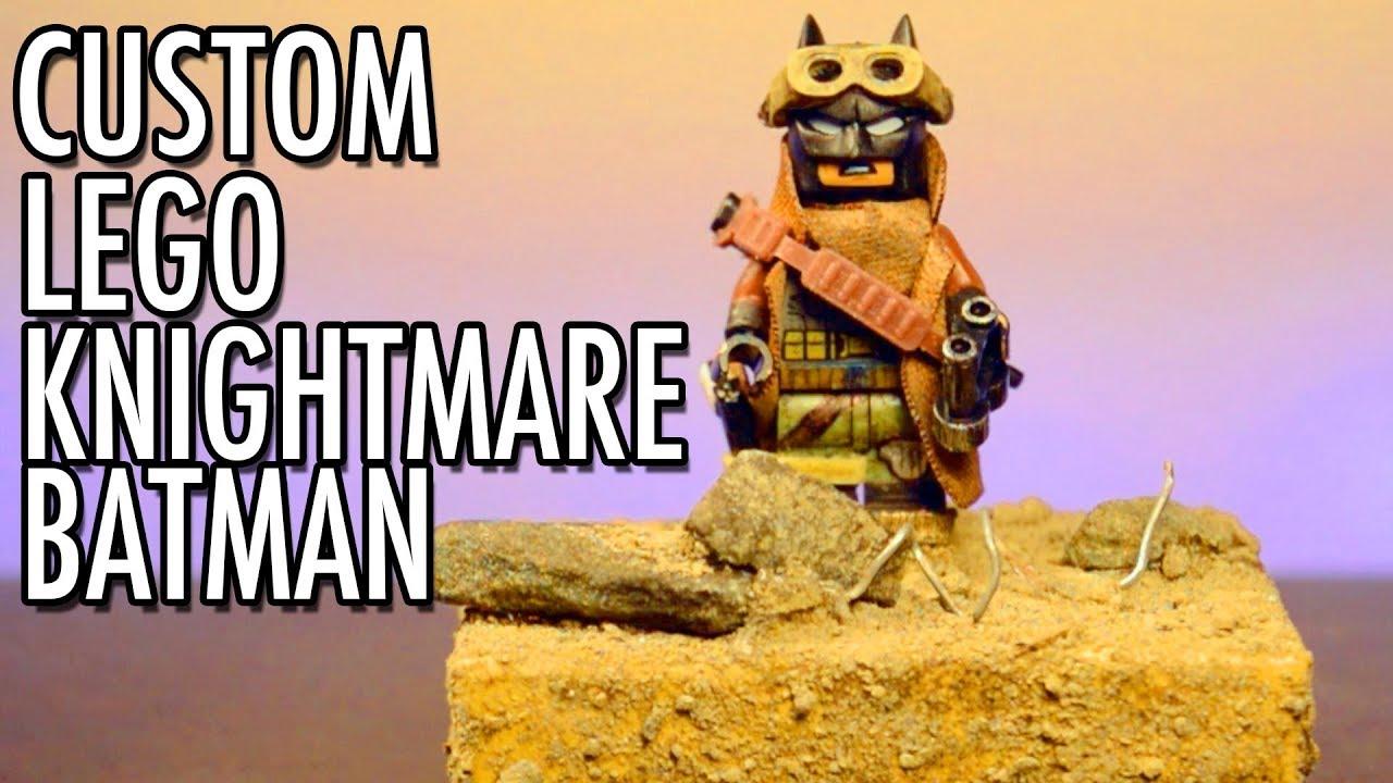 """Custom Lego """"KNIGHTMARE"""" Batman w/ Custom Base! - YouTube"""