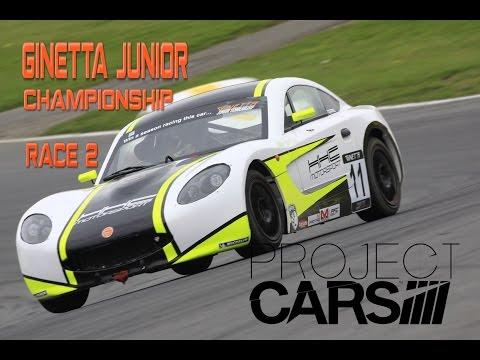 PROJECT CARS - Ginetta Junior Online Championship: Race 2, Brands Hatch