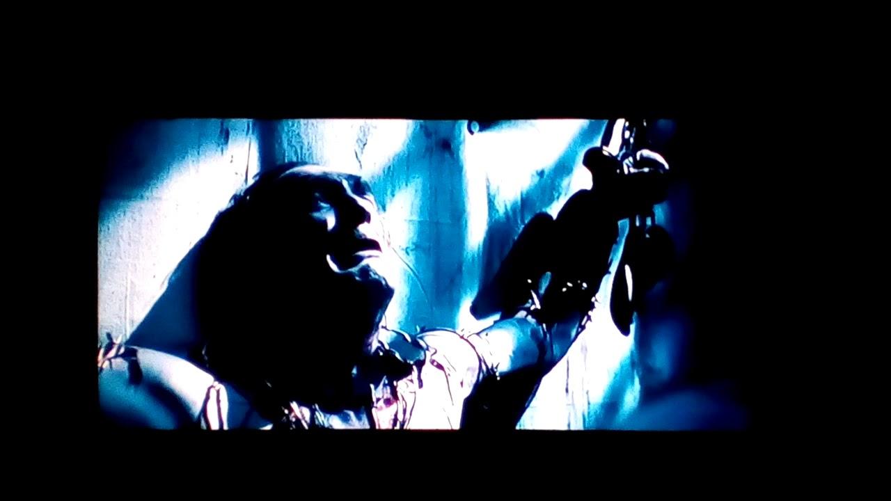 Evil doctor's death scene from Asylum (2008)