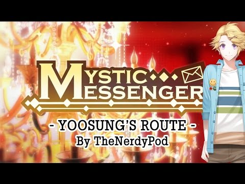 Yoosung⋆'s Route Walkthrough Casual Story Day 1-1【Cheritz Mystic Messenger】