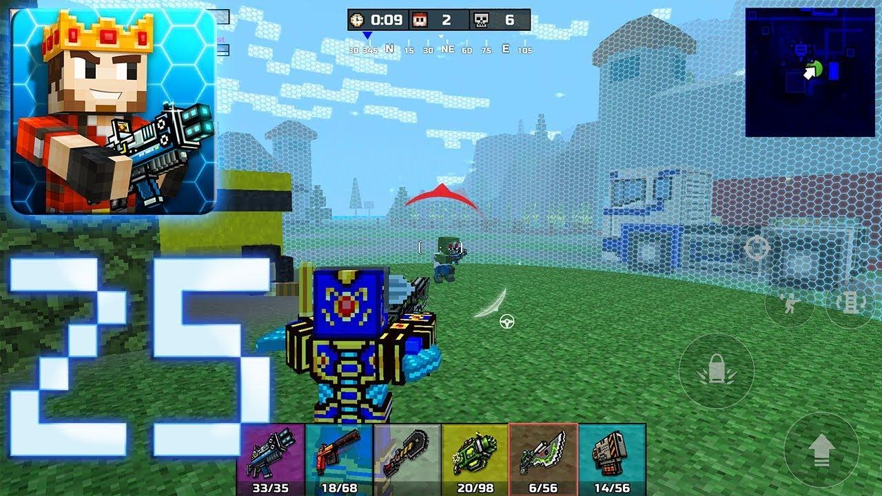 Pixel Gun 3D - Battle Royale Gameplay Part 25 - Epic Battle!