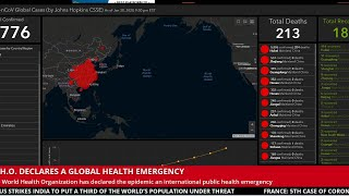 LIVE CORONAVIRUS MAP | NEWS | INFECTIONS | DEATHS | SURVEY
