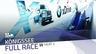 KÖnigssee | BMW IBSF World Cup 2017/2018 - Women's Bobsleigh Heat 2 | IBSF Official