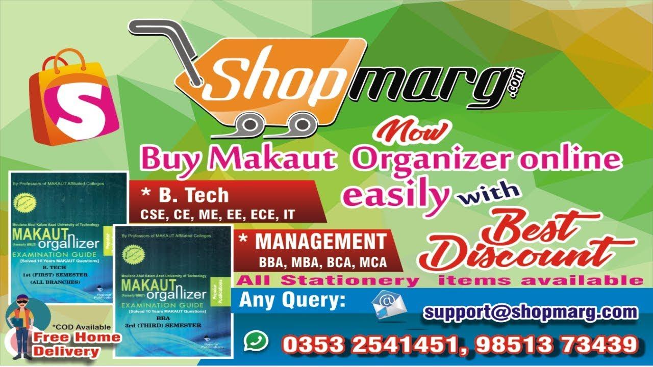 Buy Makaut Organizer or Books Online Through SHOPMARG