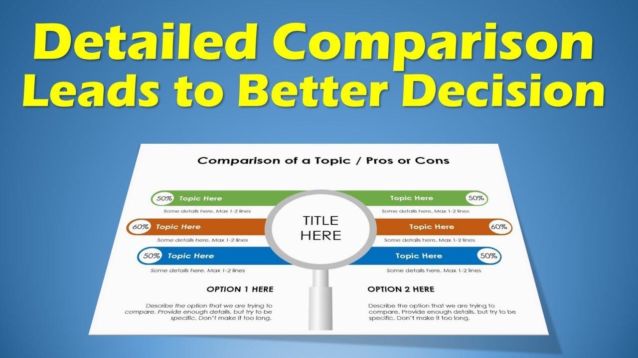 Project Management Template For Data Comparison