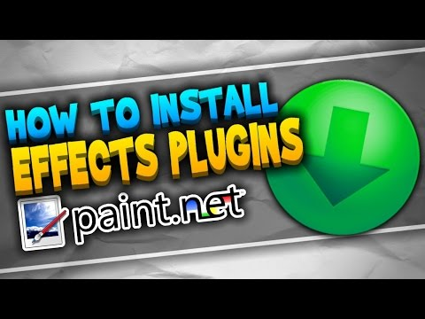 How And Where Do You Install Plug Ins For Paint Net