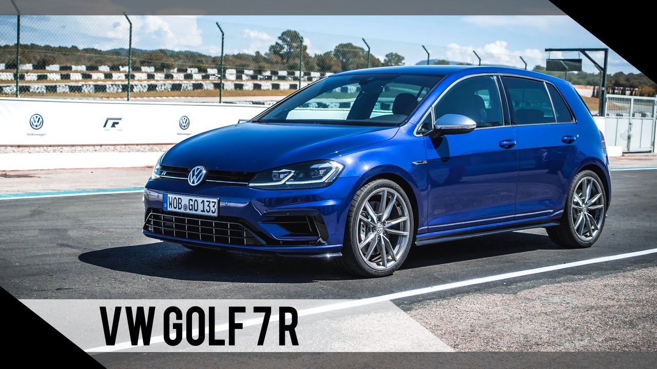 volkswagen golf 7 r update 2017 test review. Black Bedroom Furniture Sets. Home Design Ideas