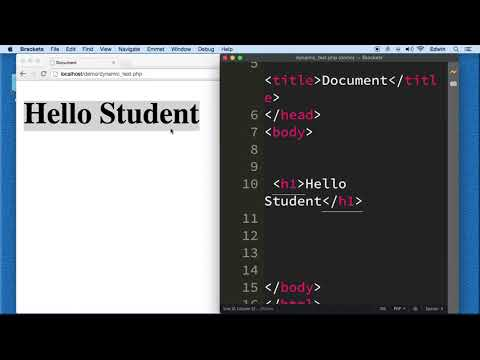 Php Lecture 006 Using Dynamic Data  ||Phase 01 The First Steps ||
