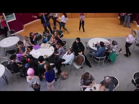 Portsmouth College Flash Mob - Wear It Pink 2013