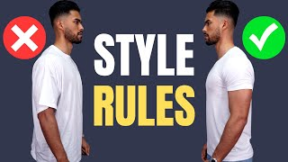 8 Style Rules Most Guys Don't Know