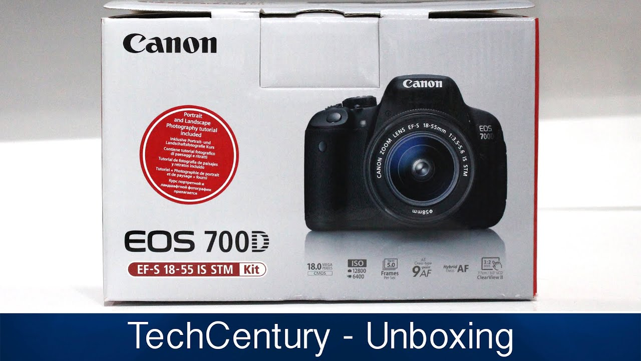 Canon EOS 700D Unboxing (18-55mm STM) Canon Rebel T5i)