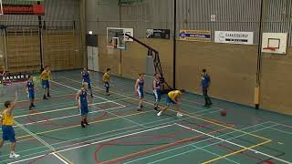 14 october 2017 Rivertrotters M22 vs Oegstgeest M22 40-61 1st period