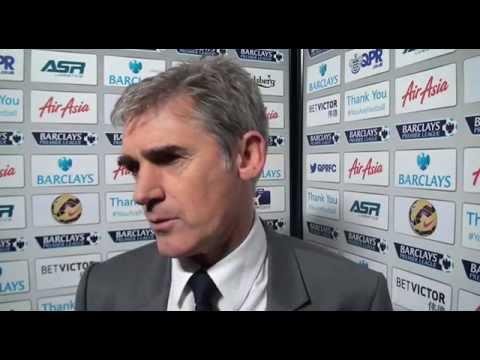Alan Irvine reflects on West Bromwich Albion's 3-2 Premier League defeat at QPR