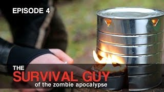 Survival Guy: Easy to Build Tin Can Grill
