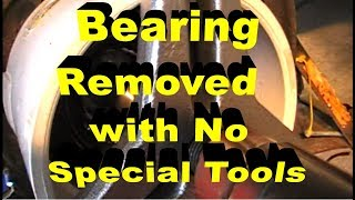 Rear Wheel Bearing Removal With No Special Tools BMW 3 Series