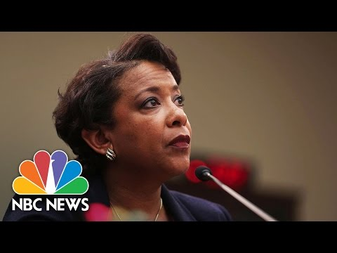 A G  Loretta Lynch: Inappropriate To Comment On Hillary Clinton Email  Decision   NBC News