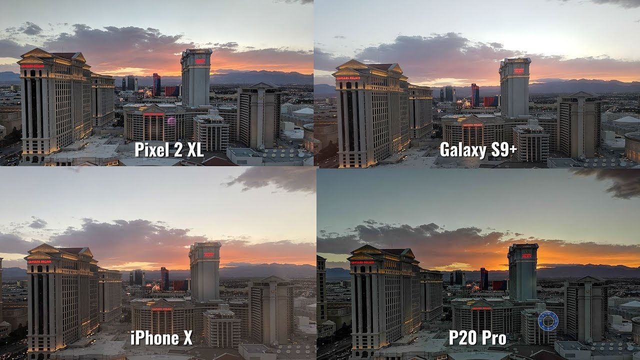 Camera Test P20 Pro vs Pixel 2 XL vs iPhone X vs Galaxy S9 Plus