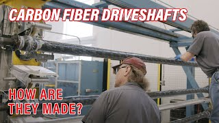The Construction of QA1 Carbon Fiber Driveshafts
