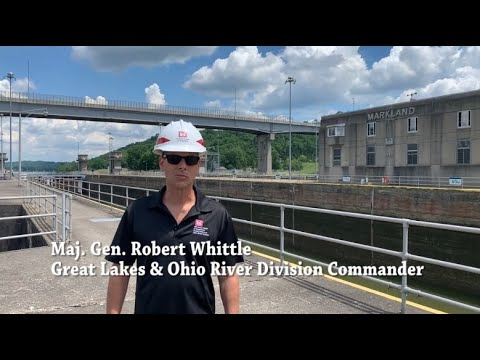 MG Whittle Discusses The Importance Of Ohio River Navigation
