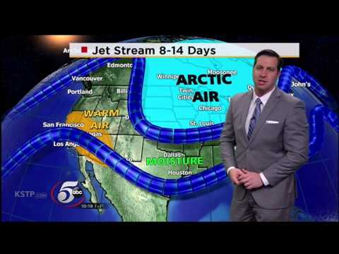 KSTP-5, St. Paul, MN, 10pm newscast, December 29, 2014, Sam Ryan weather segment