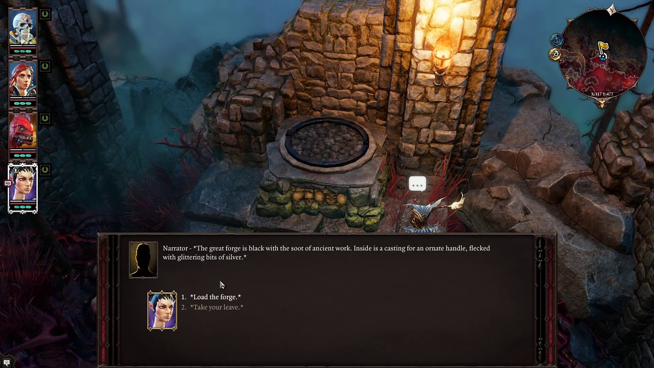 Making the Shafts for the Lever on Bloodmoon Island - Tactician - Divinity  Original Sin 2 LP #72