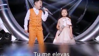 Niños chinos cantan maravilloso (subtitulado)