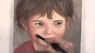 Painting a Portrait of a Child