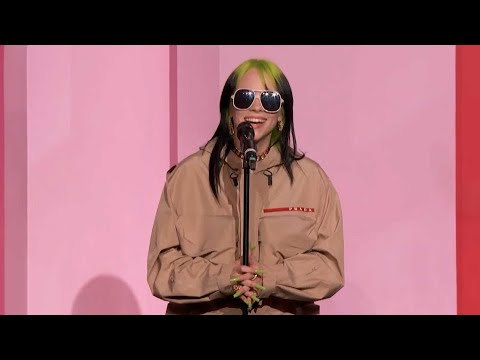 Billie Eilish Ders EPIC Billboard Women in  Awards Speech