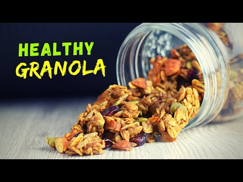 Healthy granola recipe that changed my breakfast forever
