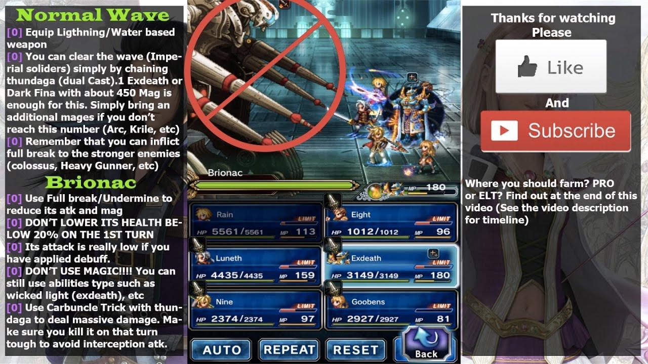 Final Fantasy Brave Exvius Guide And Tips Guide4gamerscom