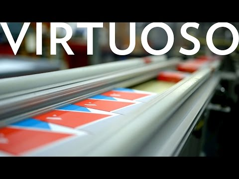 Cardistry - Virtuoso : Off The Press (Visiting the USPC)