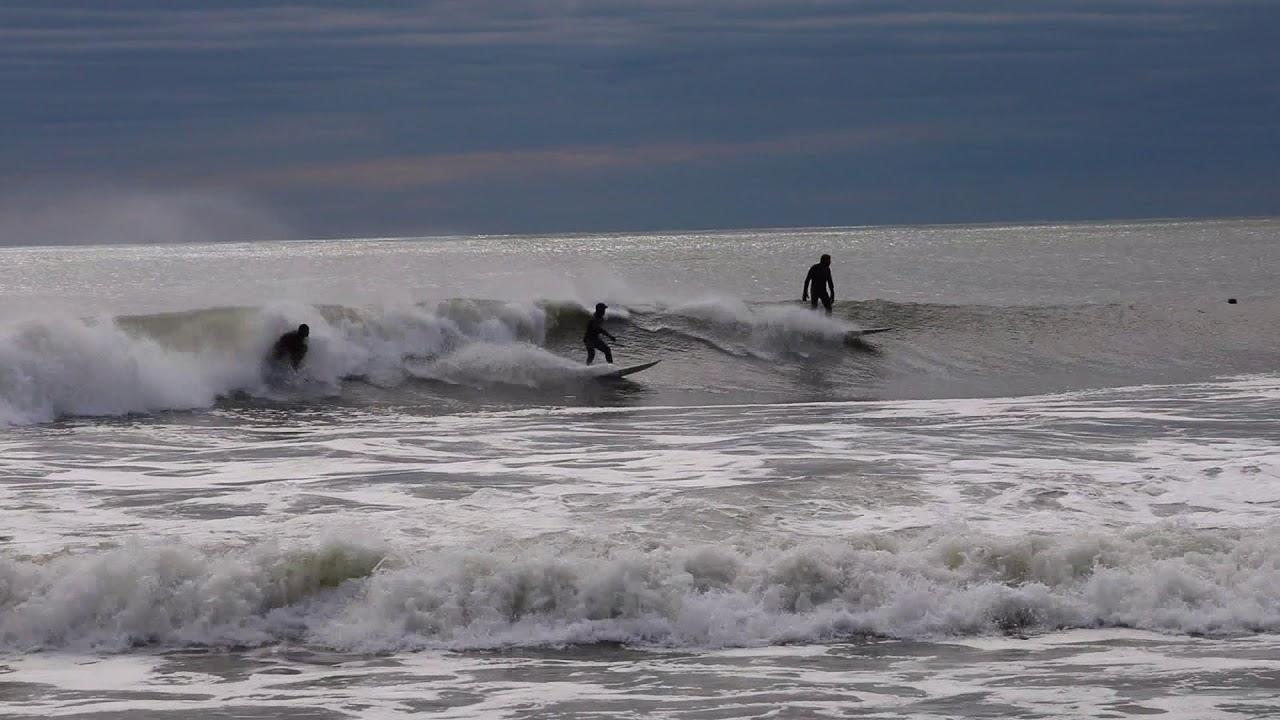 Winter Storm Riley Surf Long Beach